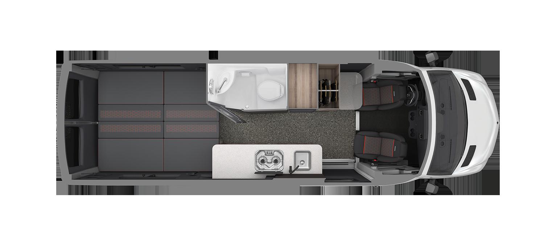 AIRMKT 2021 Interstate 24X Floor Plan Bed WEB