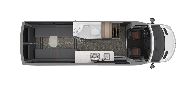 AIRMKT 2021 Interstate 24X Floor Plan Dinette WEB